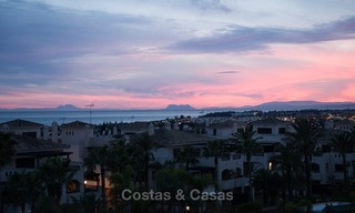 Penthouse apartment for sale at easy walking distance to Puerto Banus, Marbella 1156