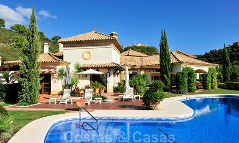 Charming luxury Andalusian style villa to buy in La Zagaleta, an exclusive golf resort in Marbella - Benahavis 20439