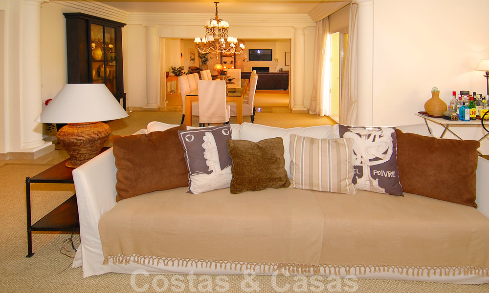 Unique spacious luxury double apartment for sale in Nueva Andalucia, Marbella 22887