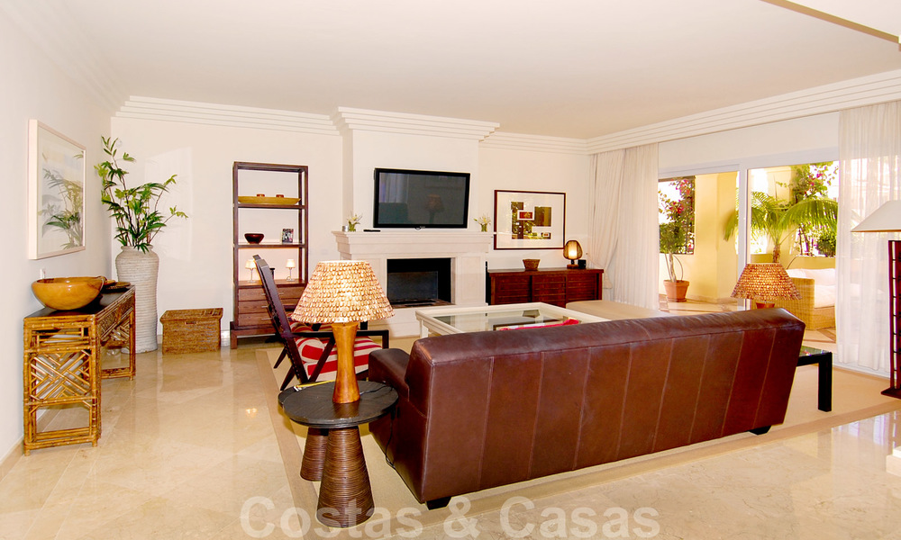 Unique spacious luxury double apartment for sale in Nueva Andalucia, Marbella 22889