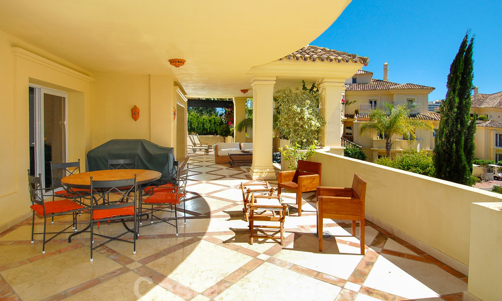 Unique spacious luxury double apartment for sale in Nueva Andalucia, Marbella 22892