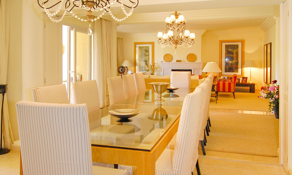 Unique spacious luxury double apartment for sale in Nueva Andalucia, Marbella 22919
