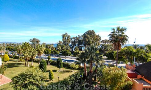 Luxury apartments and penthouses for sale on beachfront complex in San Pedro in Marbella 29892