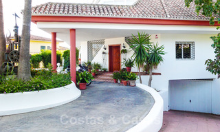 One of a kind villa for sale in a well-known area on the New Golden Mile in Estepona - Marbella 22733