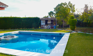 One of a kind villa for sale in a well-known area on the New Golden Mile in Estepona - Marbella 22748