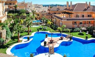 Spacious luxury apartments and penthouses for sale in a sought after complex in Nueva Andalucia, Marbella 20798