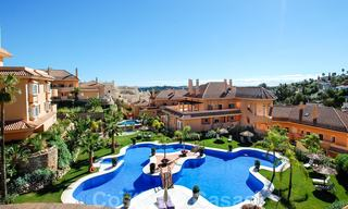 Spacious luxury apartments and penthouses for sale in a sought after complex in Nueva Andalucia, Marbella 20799