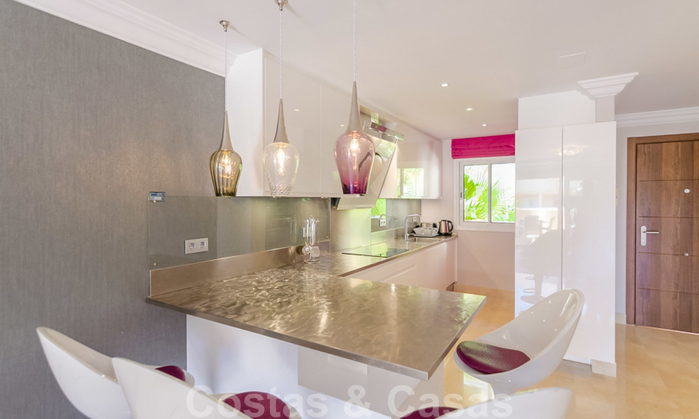 Spacious luxury apartments and penthouses for sale in a sought after complex in Nueva Andalucia, Marbella 20825