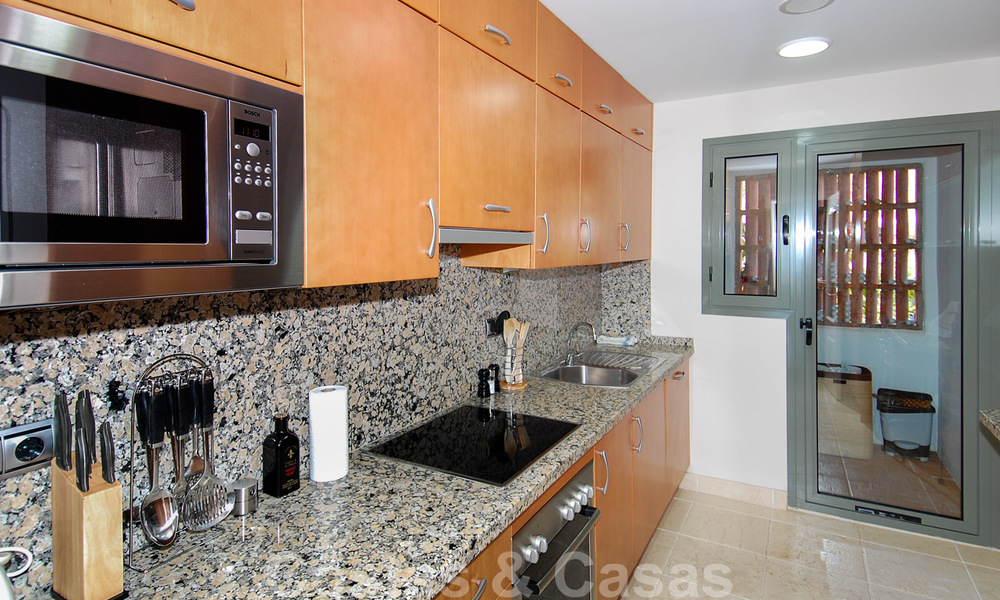 Luxury golf apartment for sale, golf resort, Marbella - Benahavis - Estepona 23511