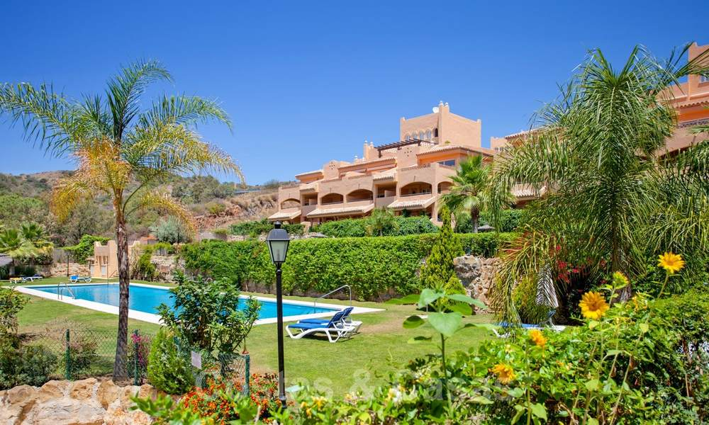 Apartments for sale with sea views and spacious terraces in Elviria, Marbella east 20263