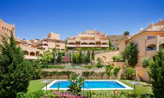 Apartments for sale with sea views and spacious terraces in Elviria, Marbella east 20266