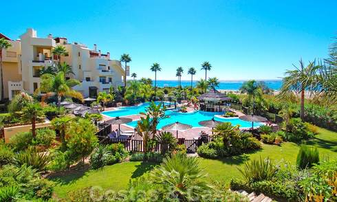 Luxury apartments for sale, frontline beach complex, New Golden Mile, Marbella - Estepona 26968