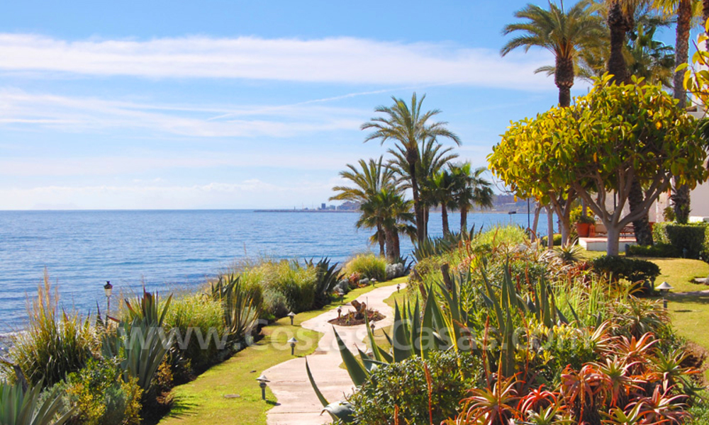 Exclusive beachside apartments for sale, Puente Romano, Golden Mile, Marbella 12445