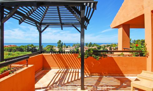 Luxury apartments for sale near the beach in a prestigious complex, just east of Marbella town 22981