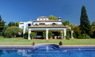 Luxury villa for sale on the Golden Mile in Marbella 5586