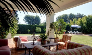 Luxury villa for sale on the Golden Mile in Marbella 5587