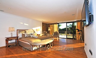 Modern contemporary style First line beach luxury villa for sale in Marbella 5436