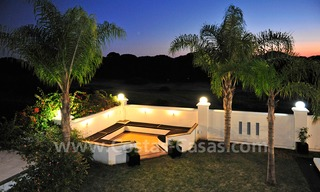 Modern contemporary style First line beach luxury villa for sale in Marbella 5458