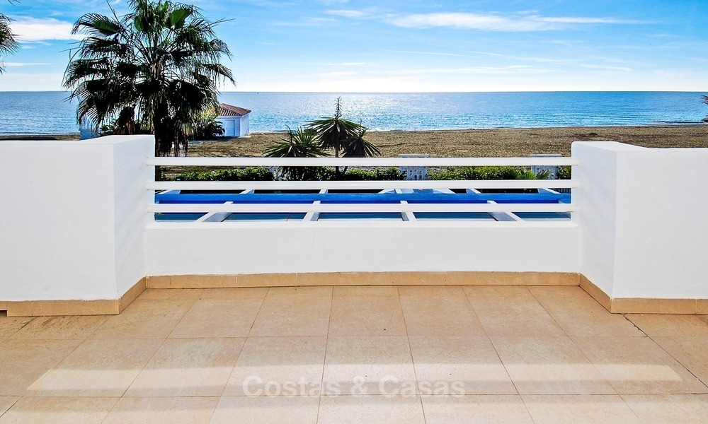 Frontline Beach Townhouses for Sale, First-line Beach Complex, New Golden Mile, Marbella - Estepona 1692