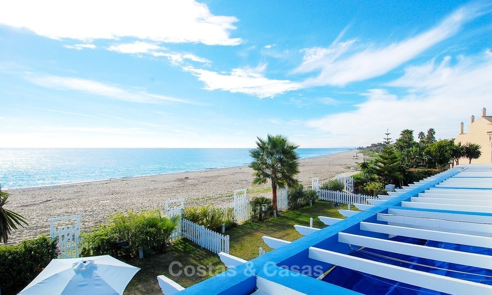 Frontline Beach Townhouses for Sale, First-line Beach Complex, New Golden Mile, Marbella - Estepona 1693