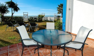 Frontline Beach Townhouses for Sale, First-line Beach Complex, New Golden Mile, Marbella - Estepona 1703