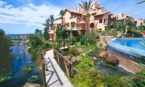 Beachfront apartments - penthouses for sale, first line beach, Marbella - Estepona