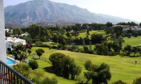 Frontline golf apartment for sale, Nueva Andalucia, Marbella