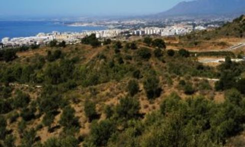 Building Plots for Sale on the Slopes of the Los Altos de Los Monteros Hills