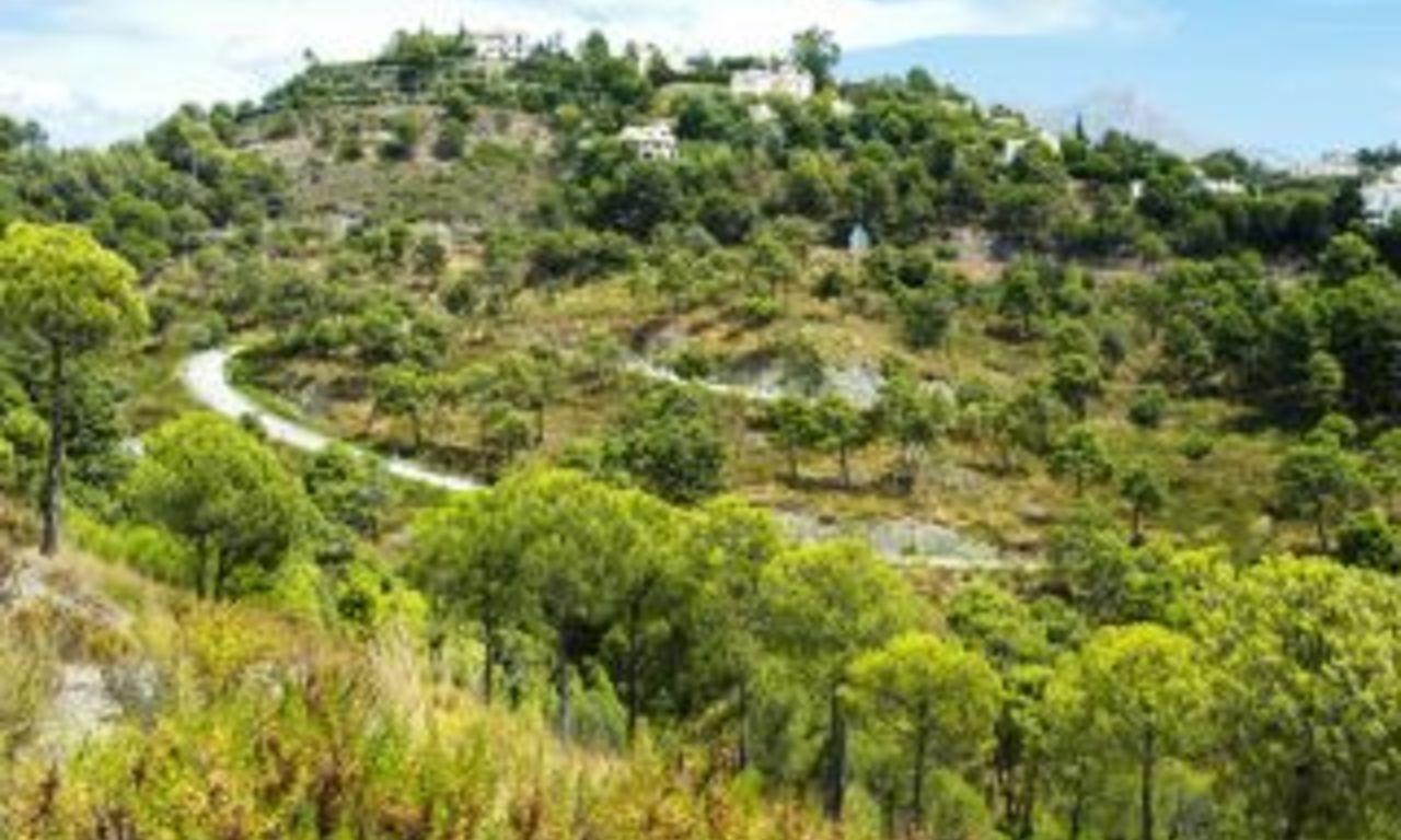Exclusive plots for sale, Benahavis, Costa del Sol 4